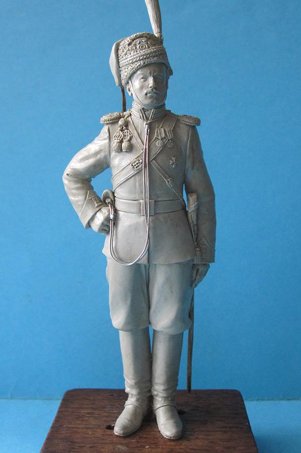 Sculpture: Sotnik, Leib Guard cossacks, 1913