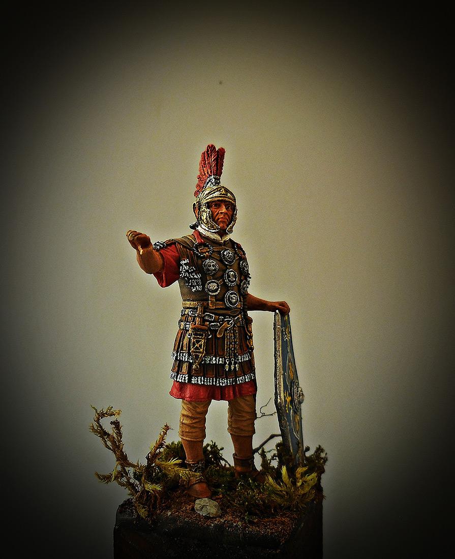 Figures: Officer, II auxiliary legion, late I-II A.D., photo #6