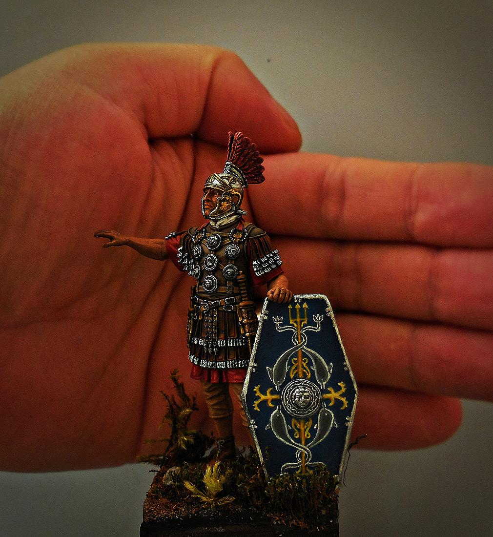 Figures: Officer, II auxiliary legion, late I-II A.D., photo #9