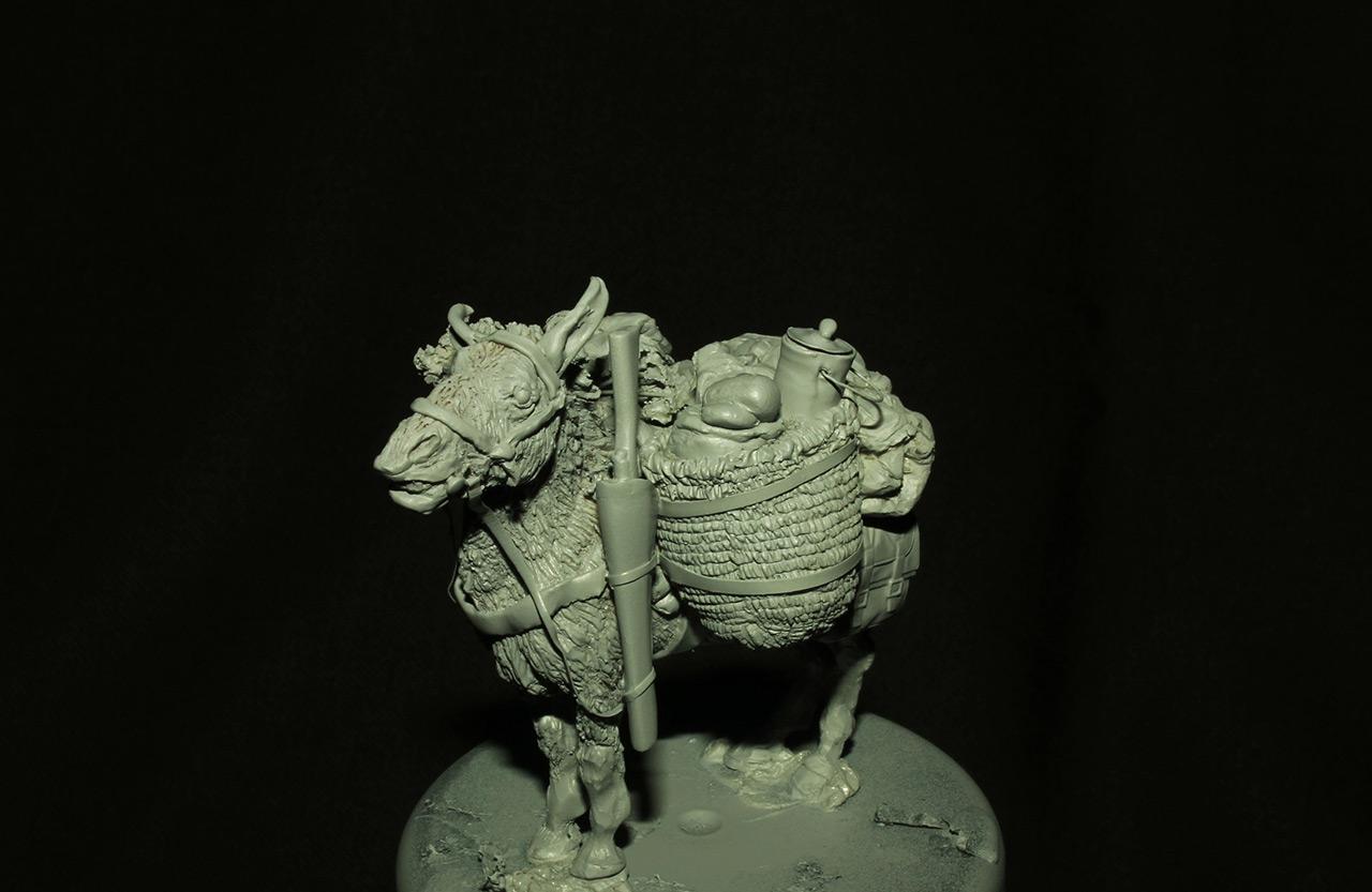 Sculpture: Mujahideen's mule, photo #1