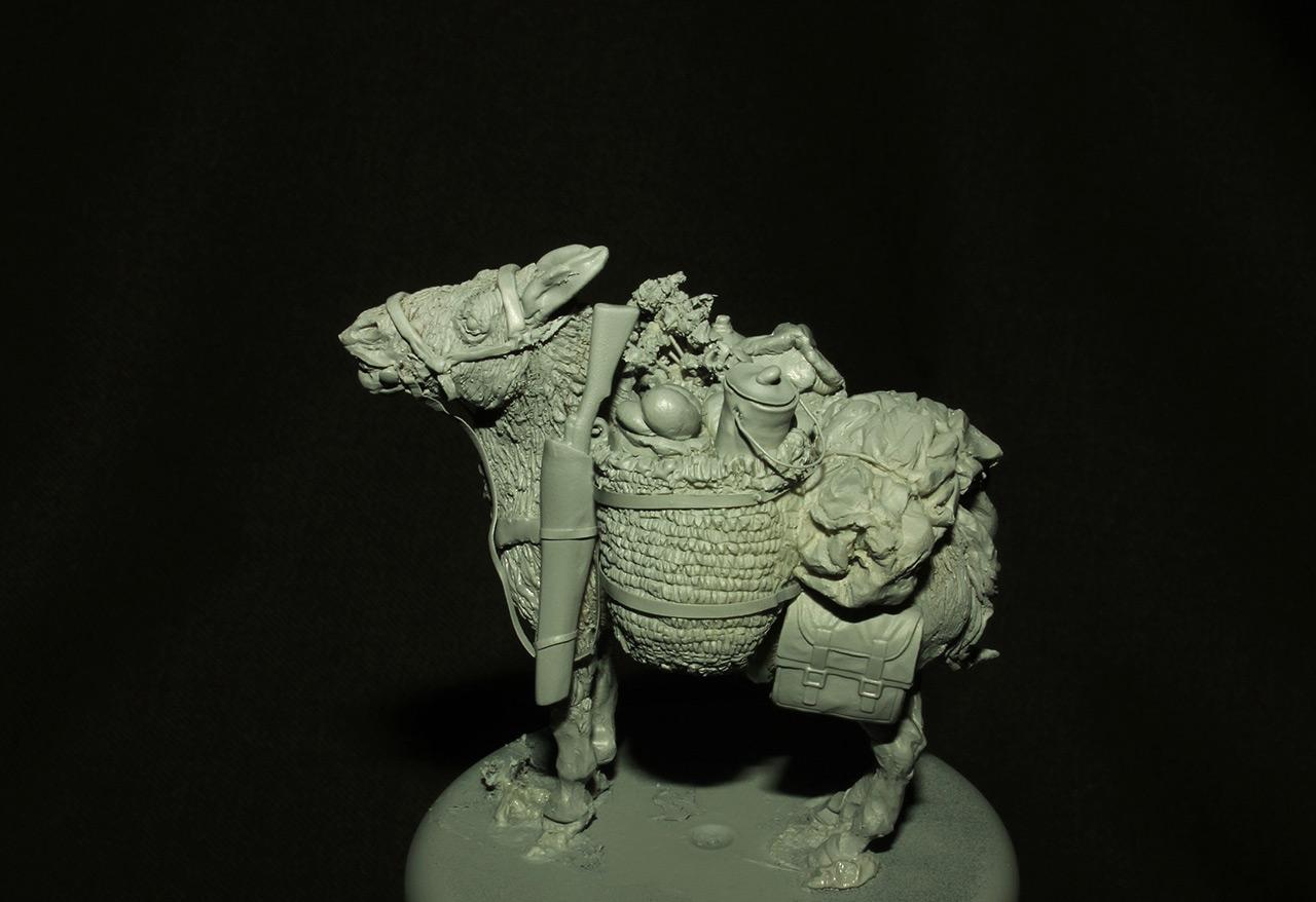 Sculpture: Mujahideen's mule, photo #2