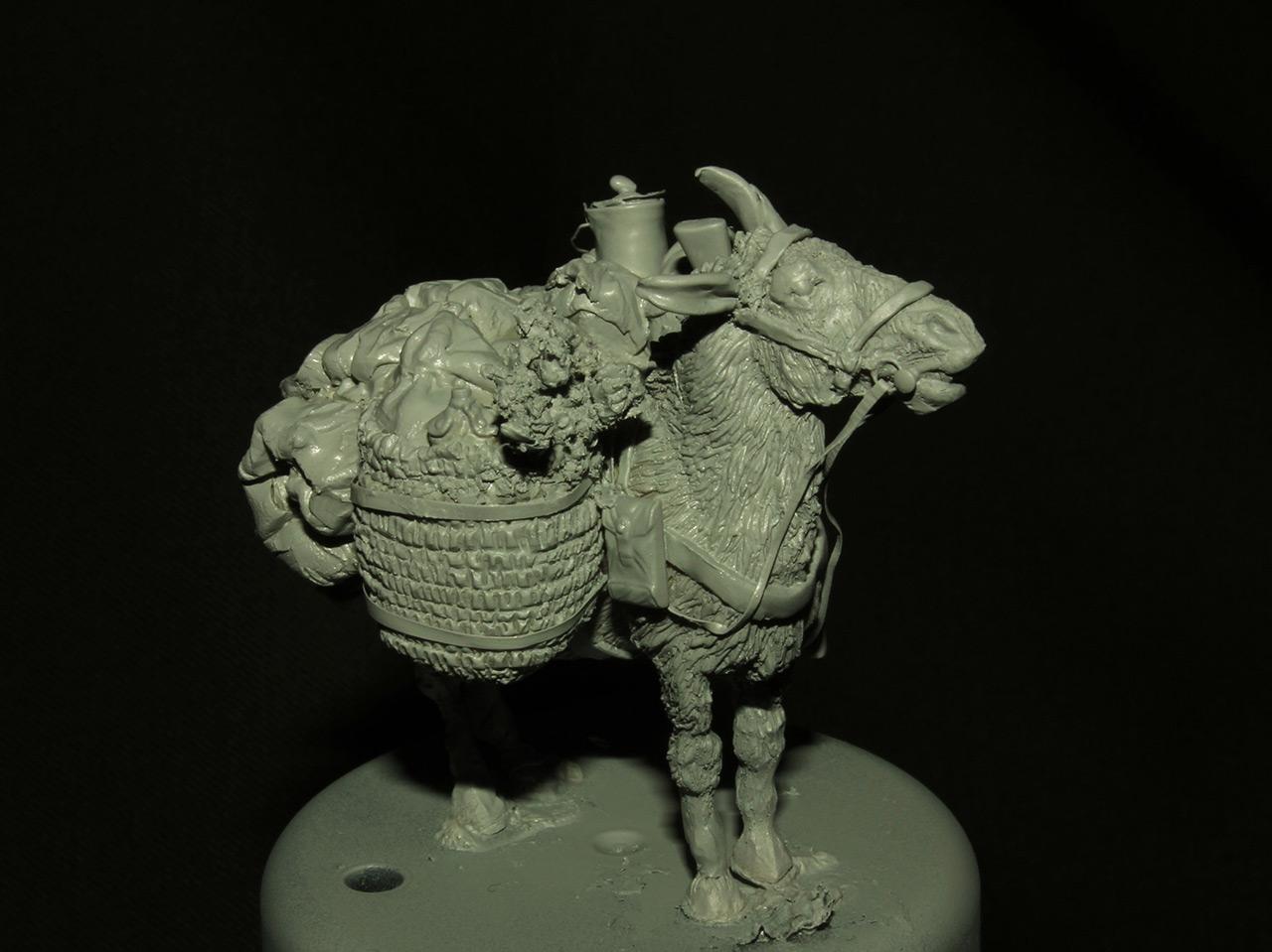 Sculpture: Mujahideen's mule, photo #4