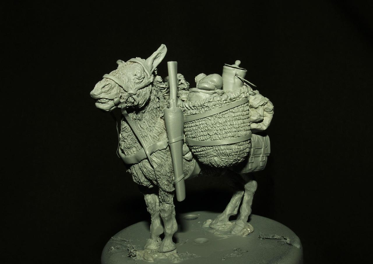 Sculpture: Mujahideen's mule, photo #5