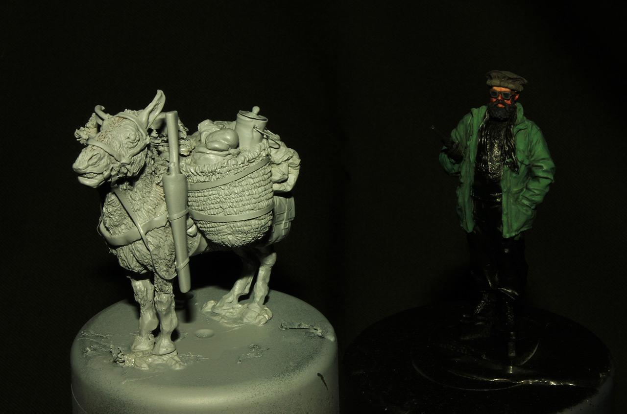 Sculpture: Mujahideen's mule, photo #8