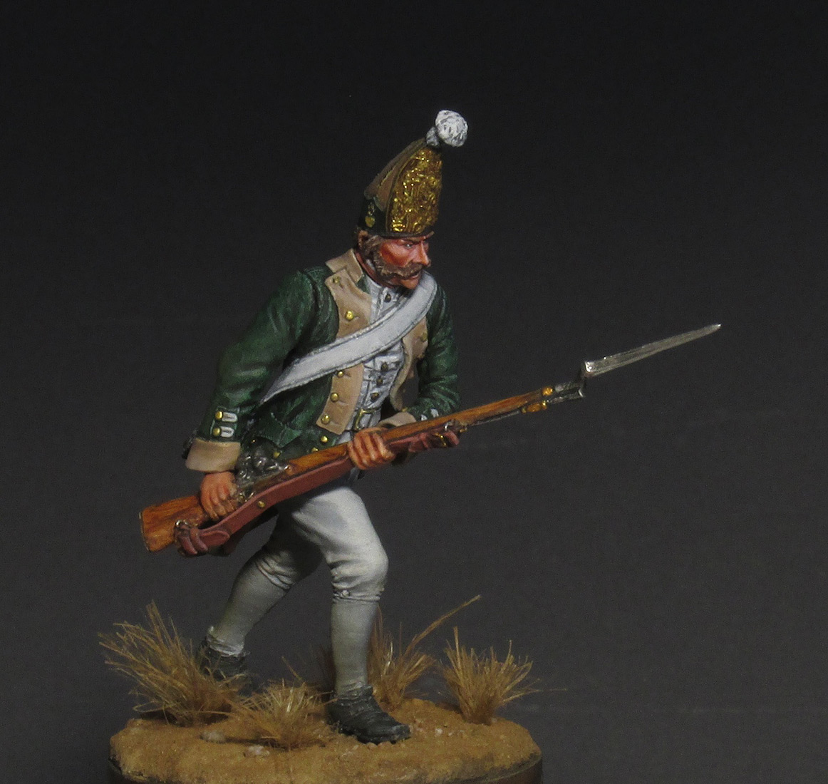 Figures: Russian grenadier, 1799, photo #1