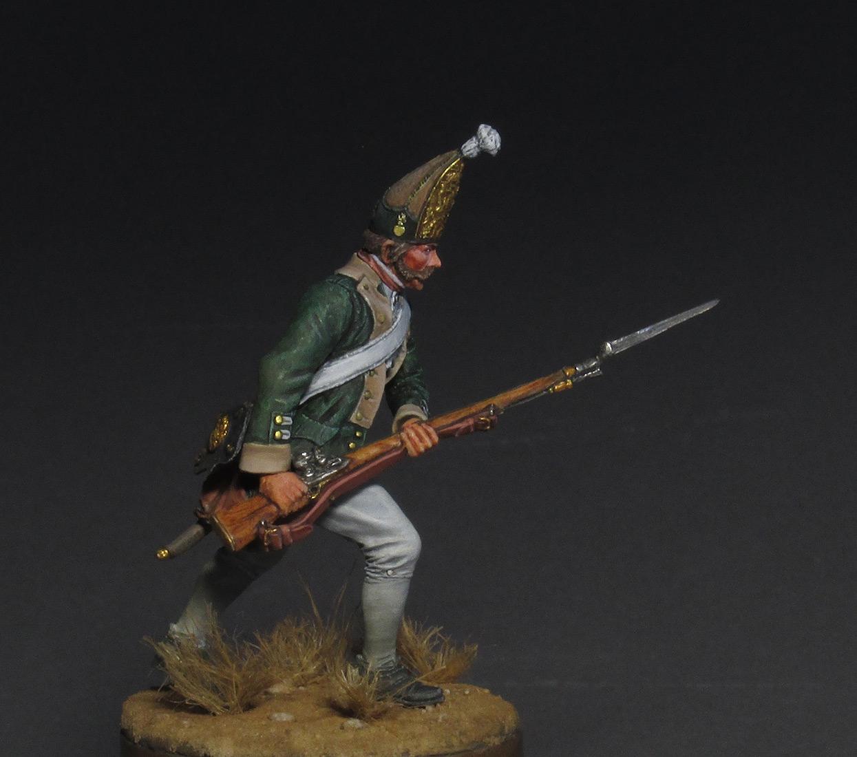 Figures: Russian grenadier, 1799, photo #2