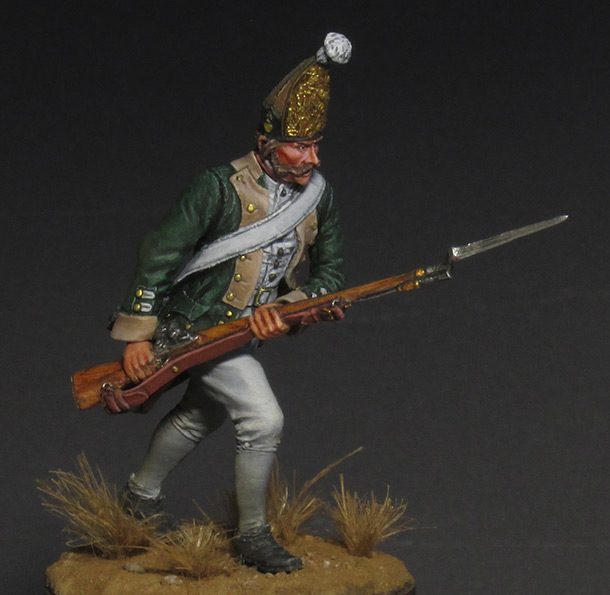 Figures: Russian grenadier, 1799