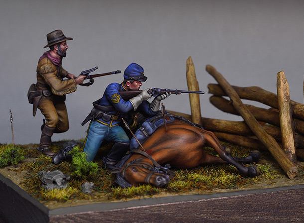 Dioramas and Vignettes: The last stronghold