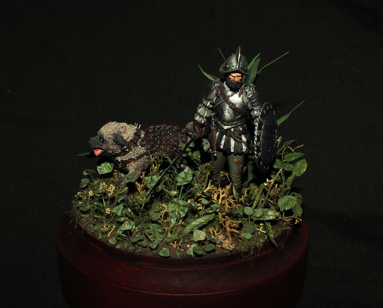 Dioramas and Vignettes: Conquistador, photo #1