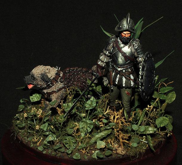 Dioramas and Vignettes: Conquistador