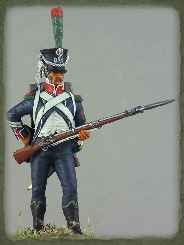 Figures: Caporal de chasseurs d'infanterie légère, 1809, photo #1
