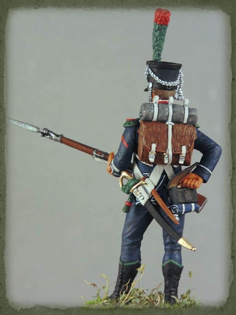 Figures: Caporal de chasseurs d'infanterie légère, 1809, photo #7