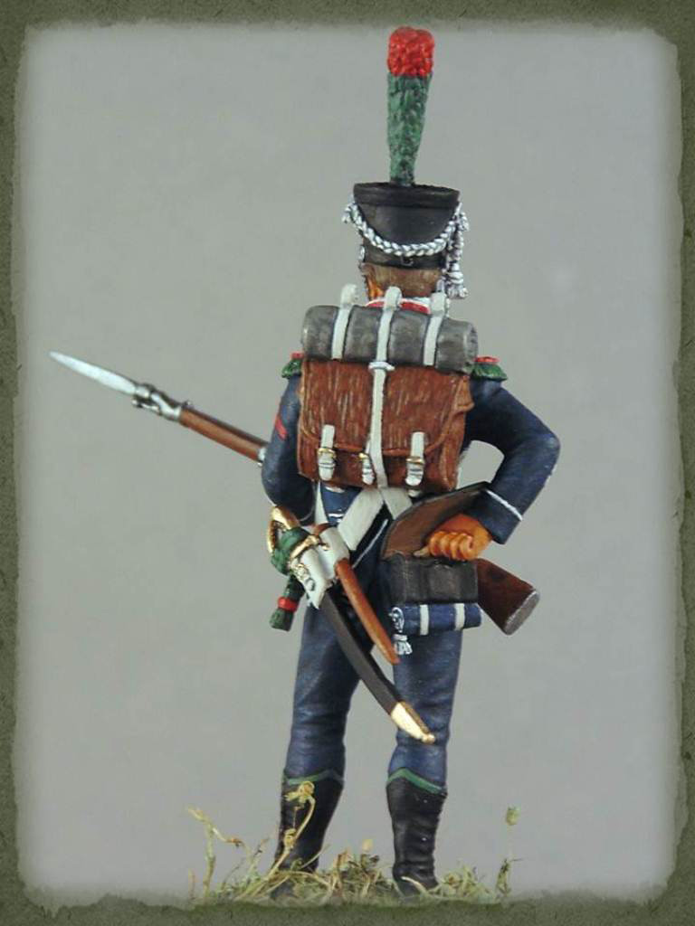 Figures: Caporal de chasseurs d'infanterie légère, 1809, photo #8