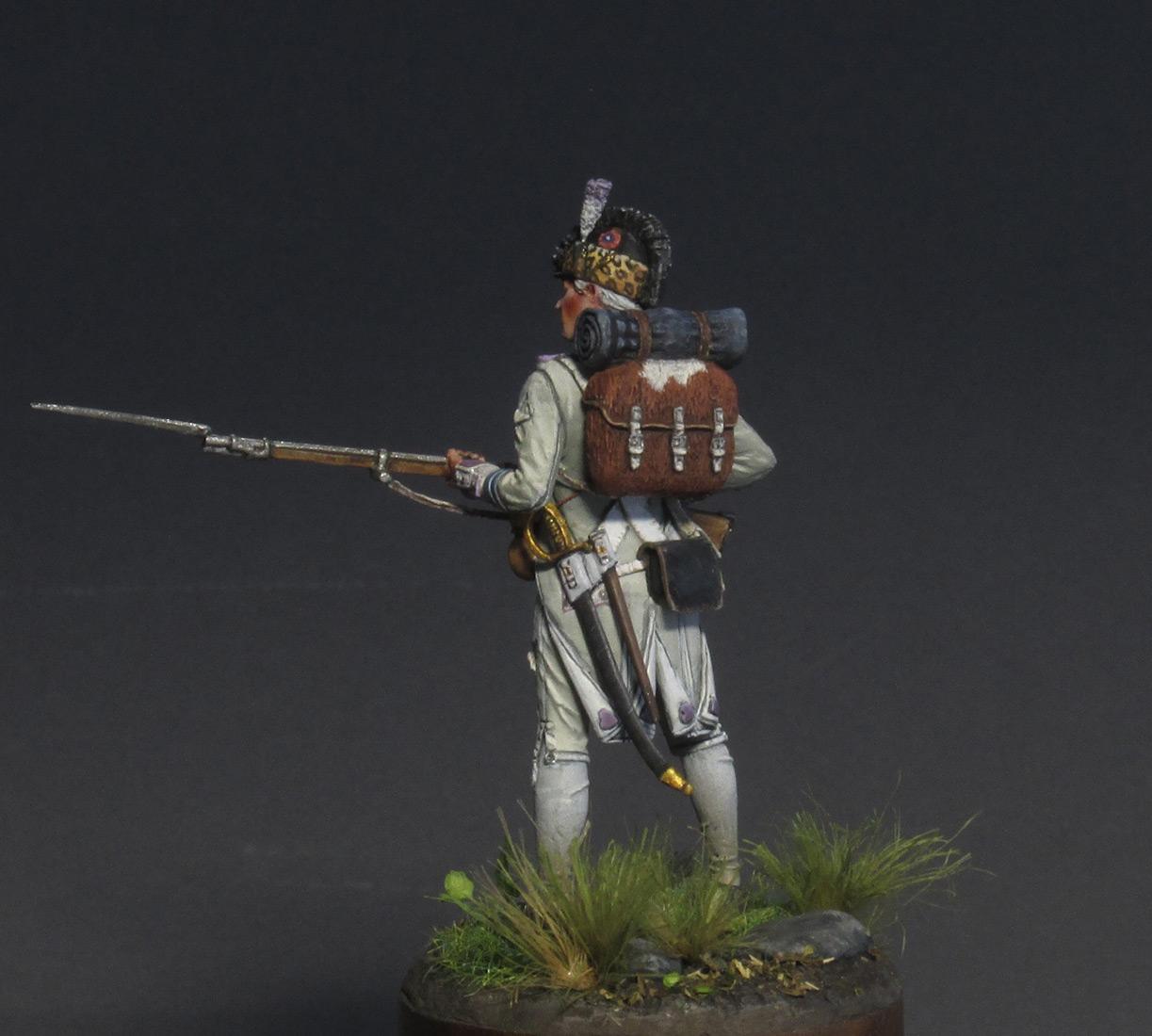 Figures: Fusilier, 17th regt., 1792, photo #6