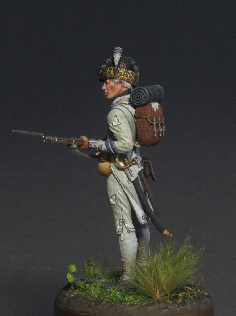 Figures: Fusilier, 17th regt., 1792, photo #7