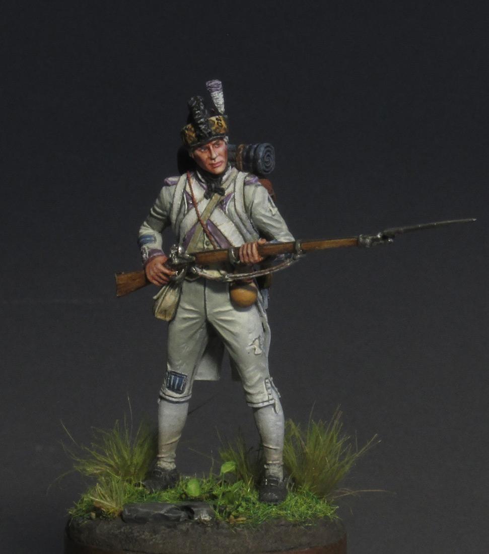 Figures: Fusilier, 17th regt., 1792, photo #9