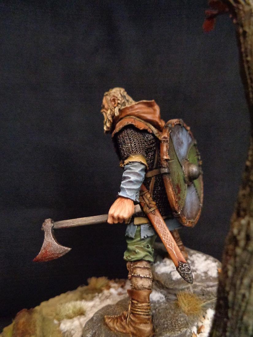 Figures: Scandinavian warrior, IX AD, photo #3