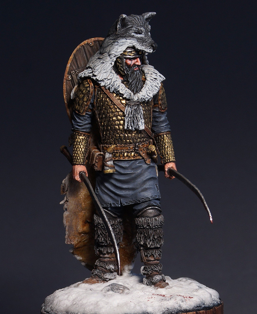 Figures: Dacian warrior, photo #8
