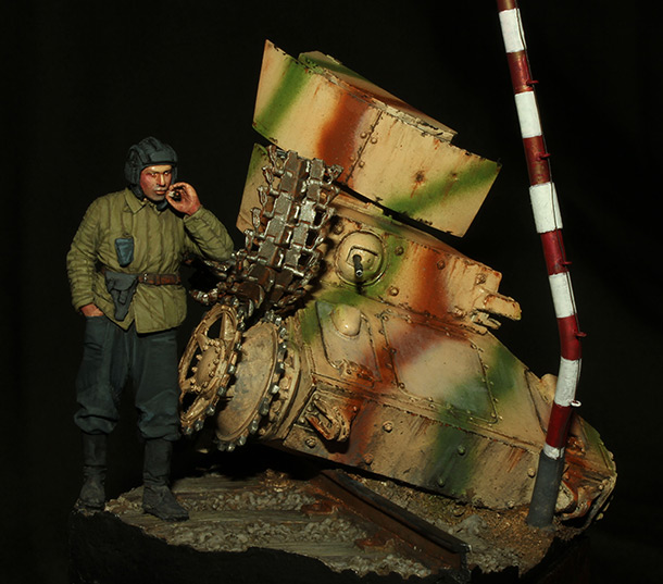 Dioramas and Vignettes: Crushed convoy