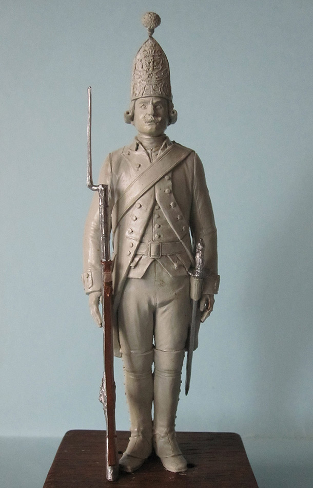 Sculpture: Grenadier, 1799