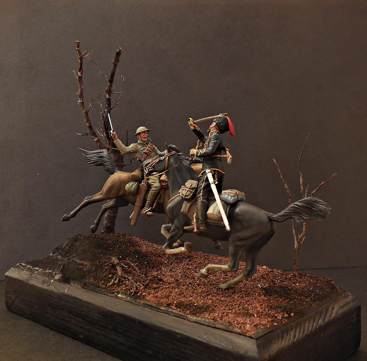 Dioramas and Vignettes: British and German cavalrymen, WWI, photo #2