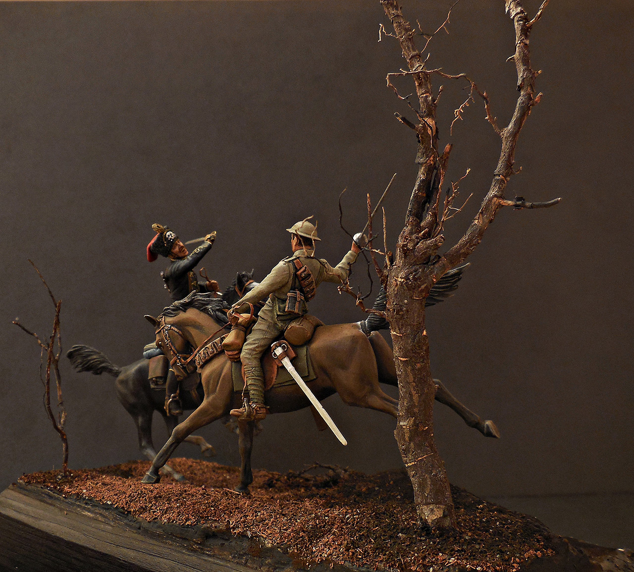 Dioramas and Vignettes: British and German cavalrymen, WWI, photo #5