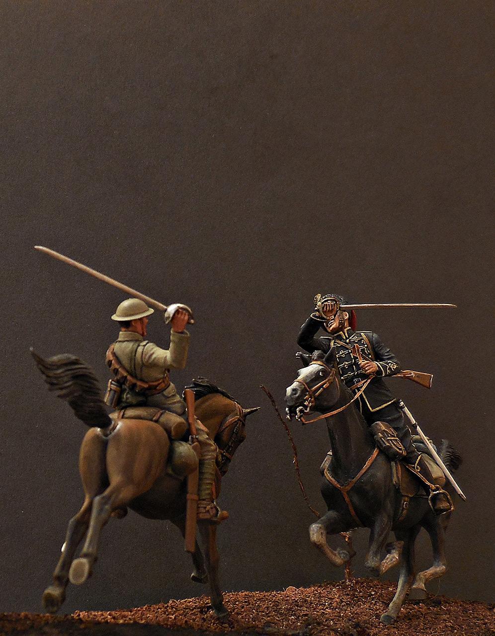 Dioramas and Vignettes: British and German cavalrymen, WWI, photo #6