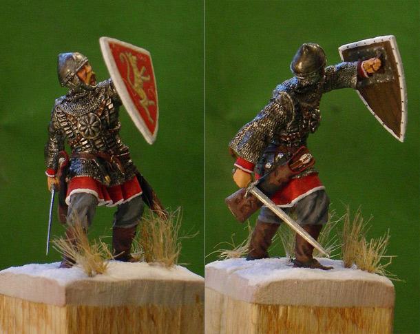 Figures: Noble Russian Warrior