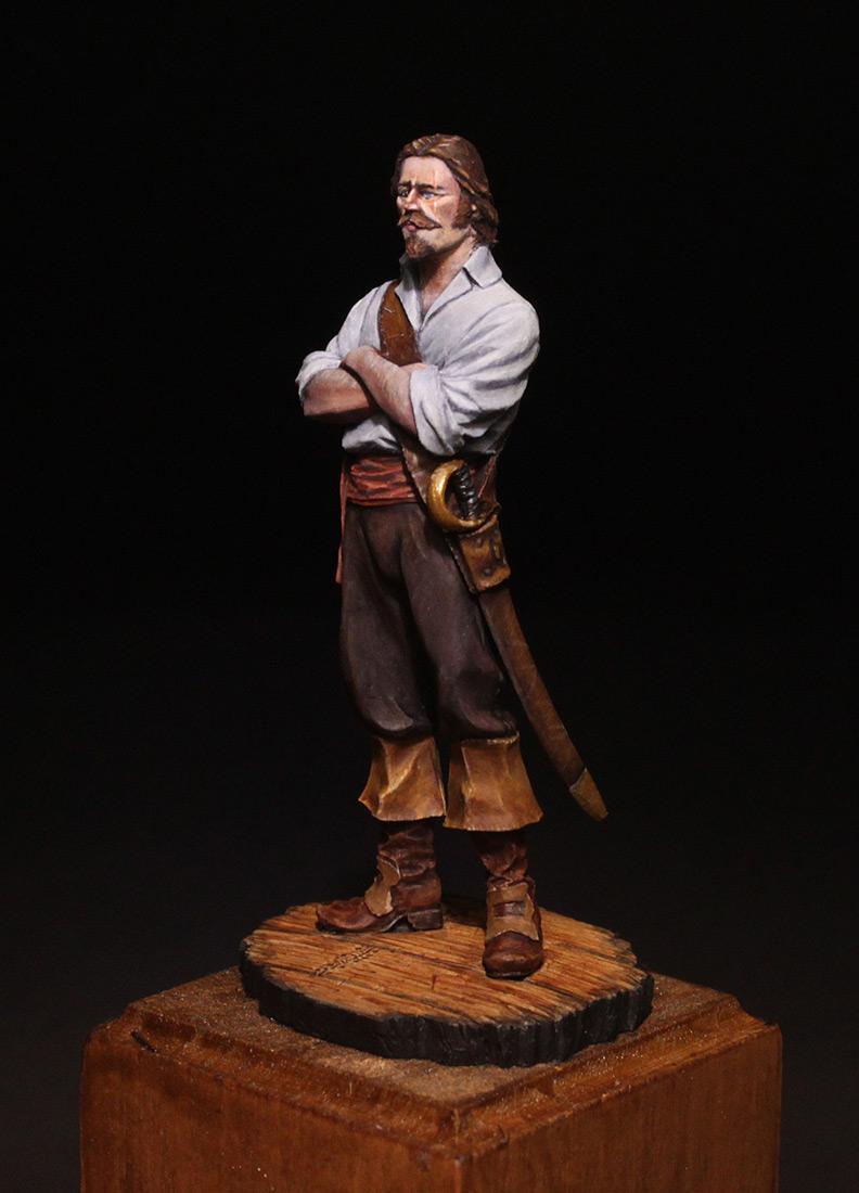 Figures: Buccaneer, 18th century, photo #3
