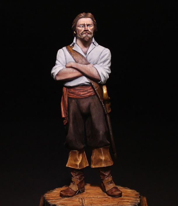 Figures: Buccaneer, 18th century