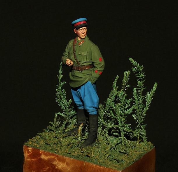 Figures: NKVD trooper