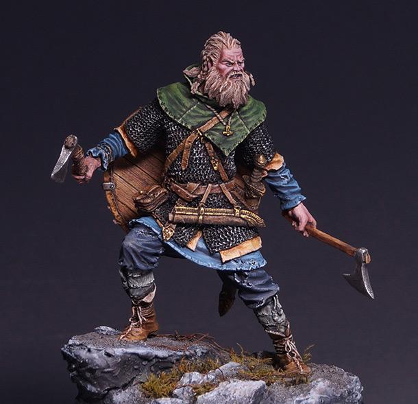 Figures: Scandinavian warrior