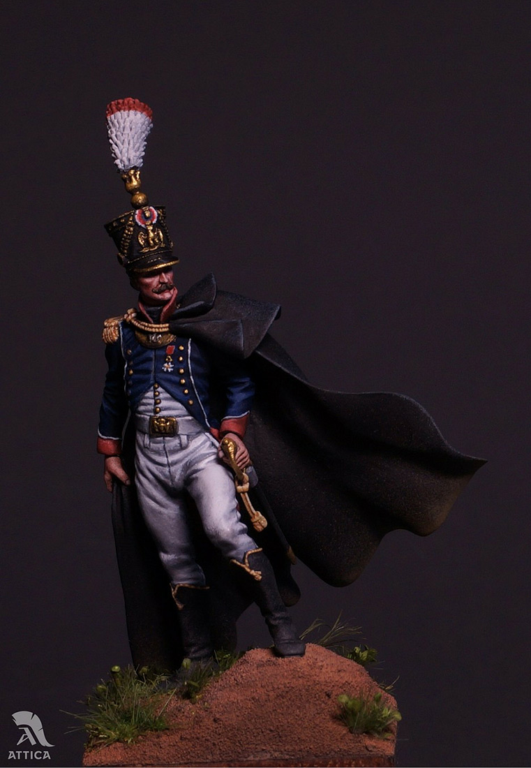Figures: French officer, photo #1