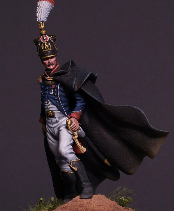 Figures: French officer