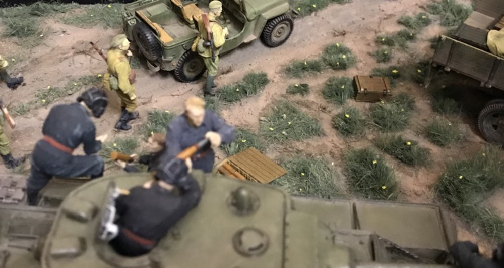 Dioramas and Vignettes: Kursk bulge. Five days earlier, photo #10