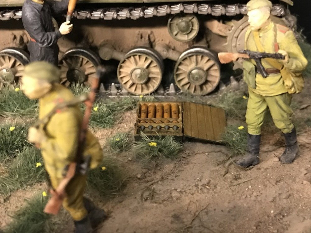 Dioramas and Vignettes: Kursk bulge. Five days earlier, photo #11