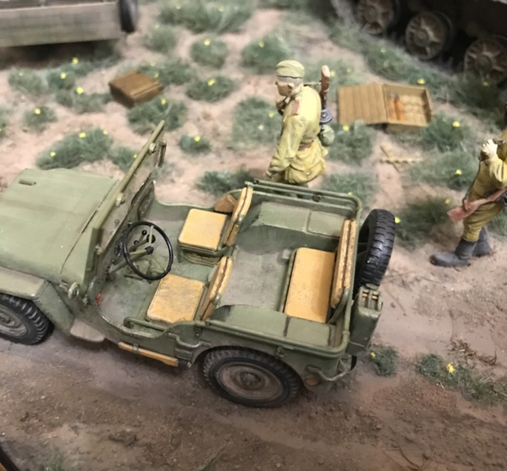 Dioramas and Vignettes: Kursk bulge. Five days earlier, photo #14