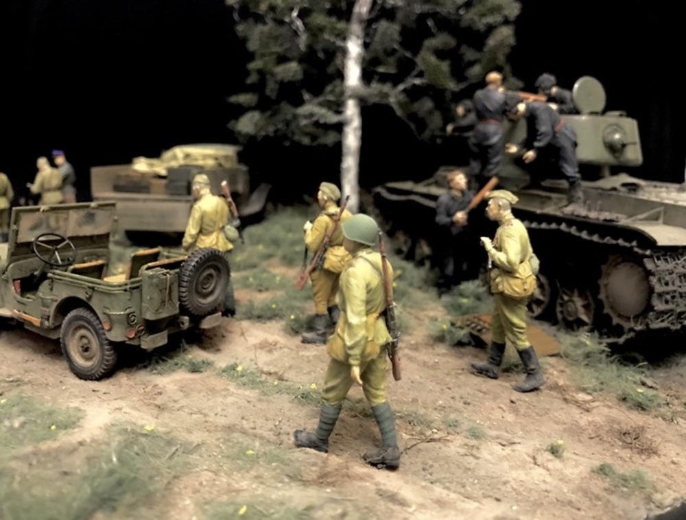 Dioramas and Vignettes: Kursk bulge. Five days earlier, photo #4