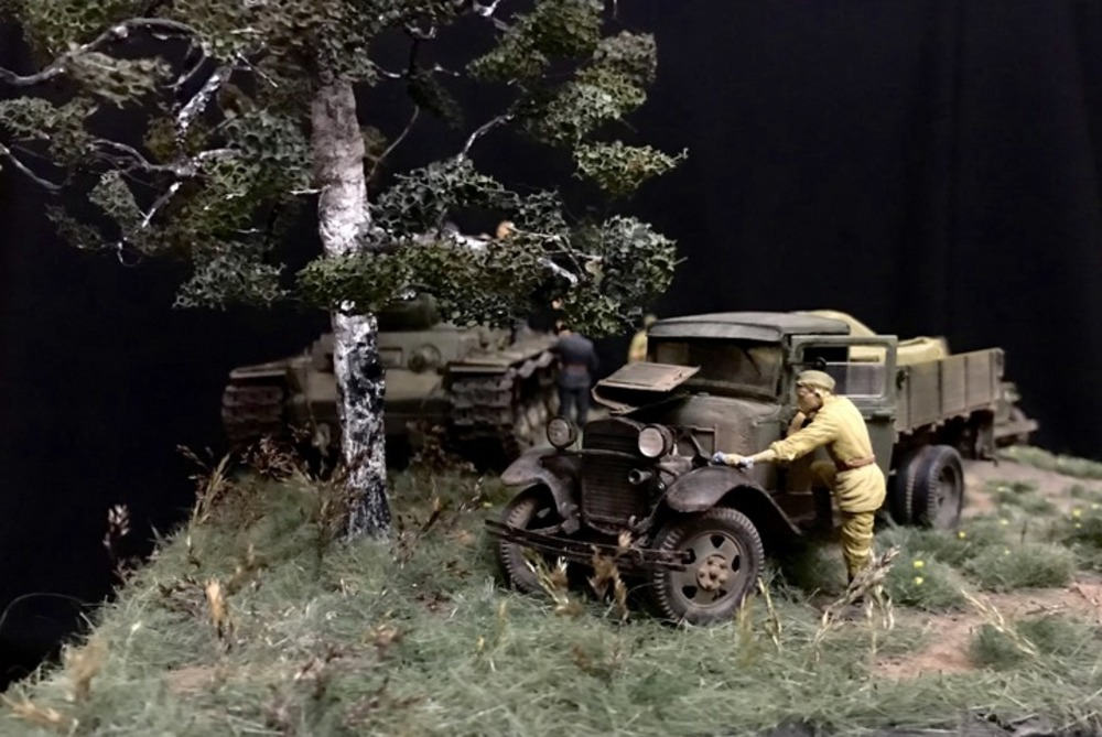 Dioramas and Vignettes: Kursk bulge. Five days earlier, photo #5