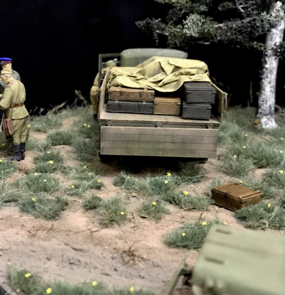 Dioramas and Vignettes: Kursk bulge. Five days earlier, photo #6
