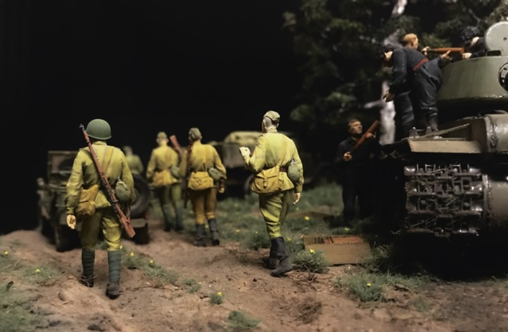 Dioramas and Vignettes: Kursk bulge. Five days earlier, photo #7