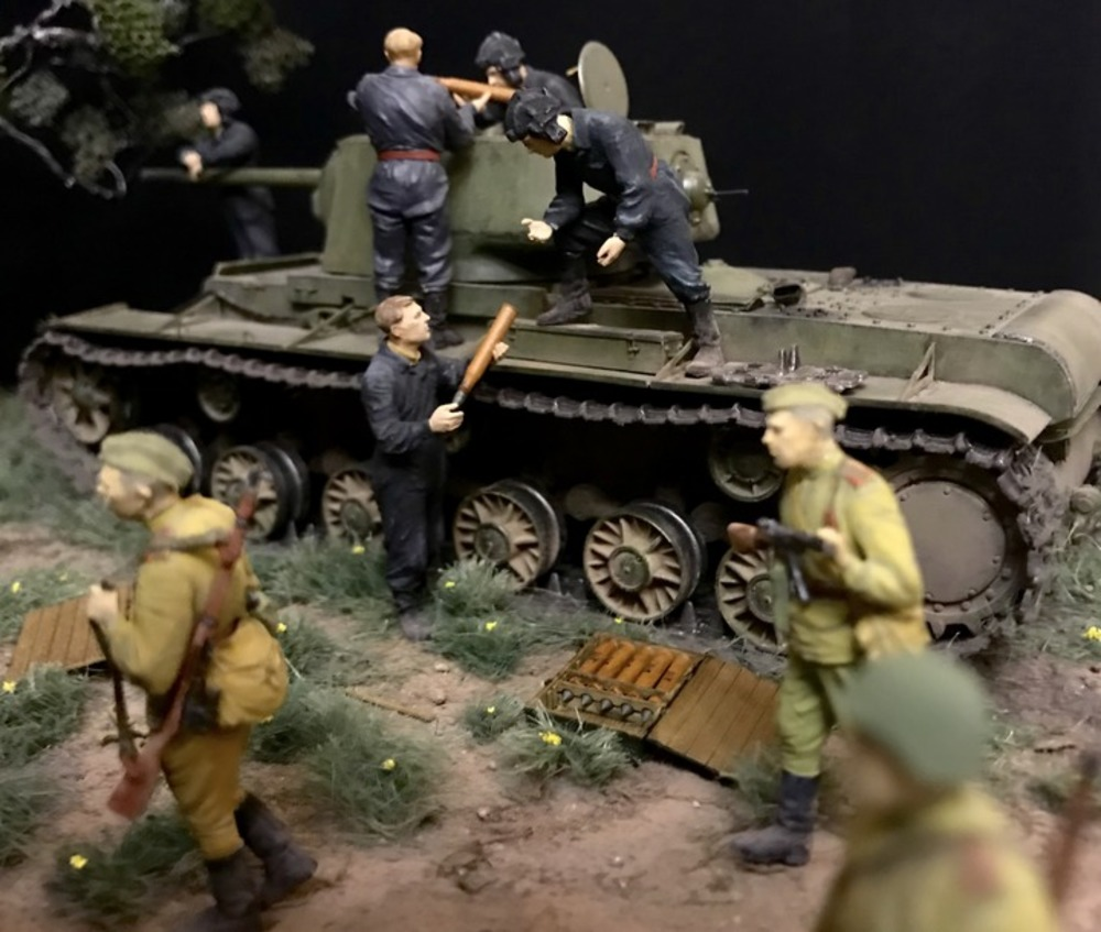 Dioramas and Vignettes: Kursk bulge. Five days earlier, photo #9