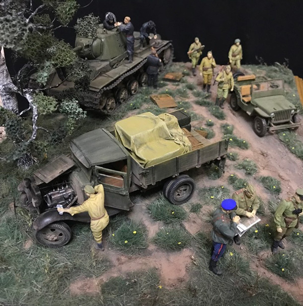 Dioramas and Vignettes: Kursk bulge. Five days earlier