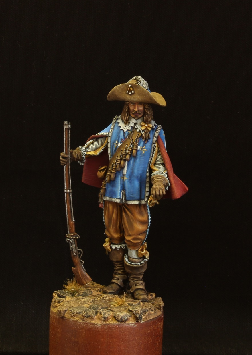 Figures: Musketeer. France, 17th cent., photo #1