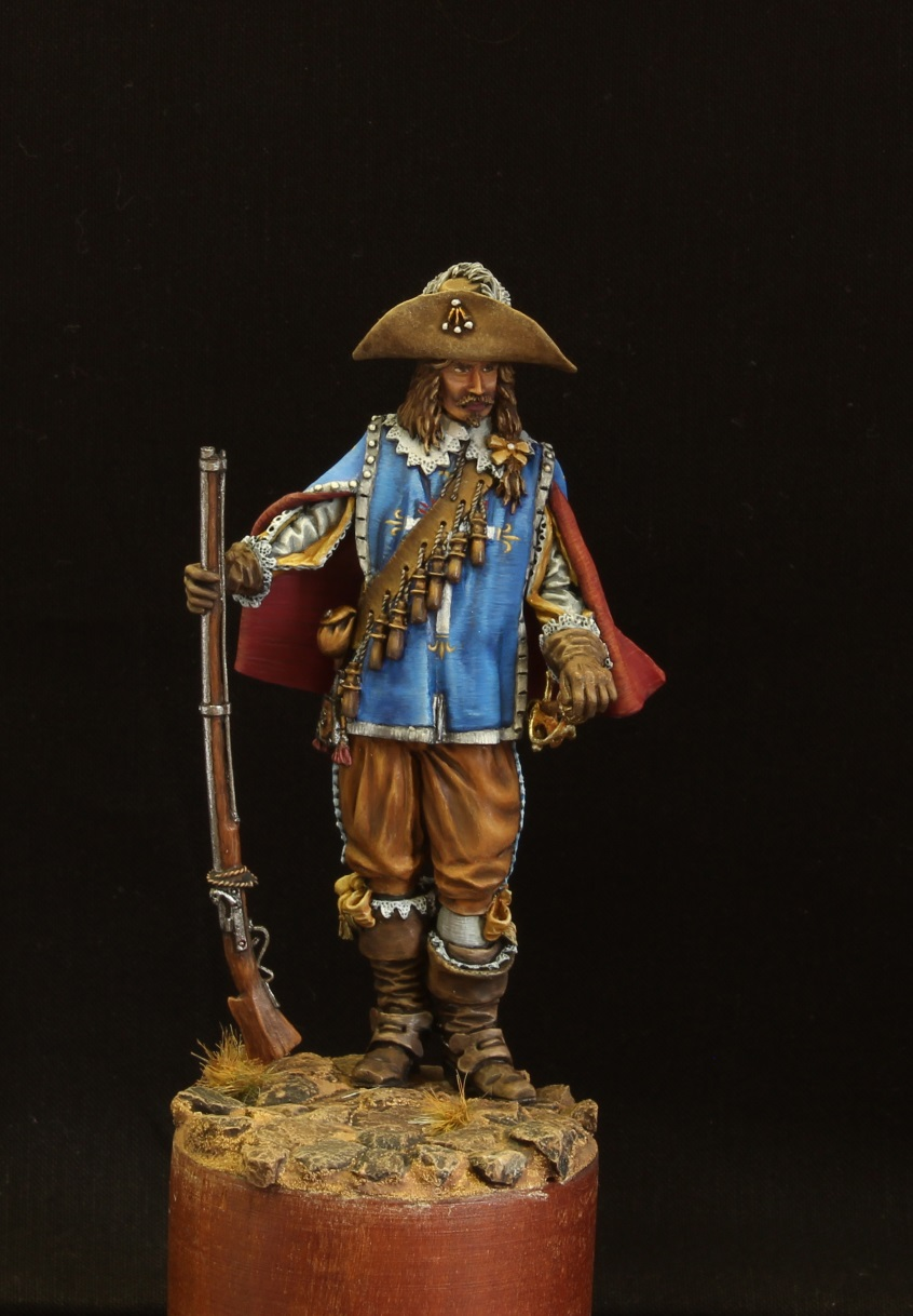 Figures: Musketeer. France, 17th cent., photo #2
