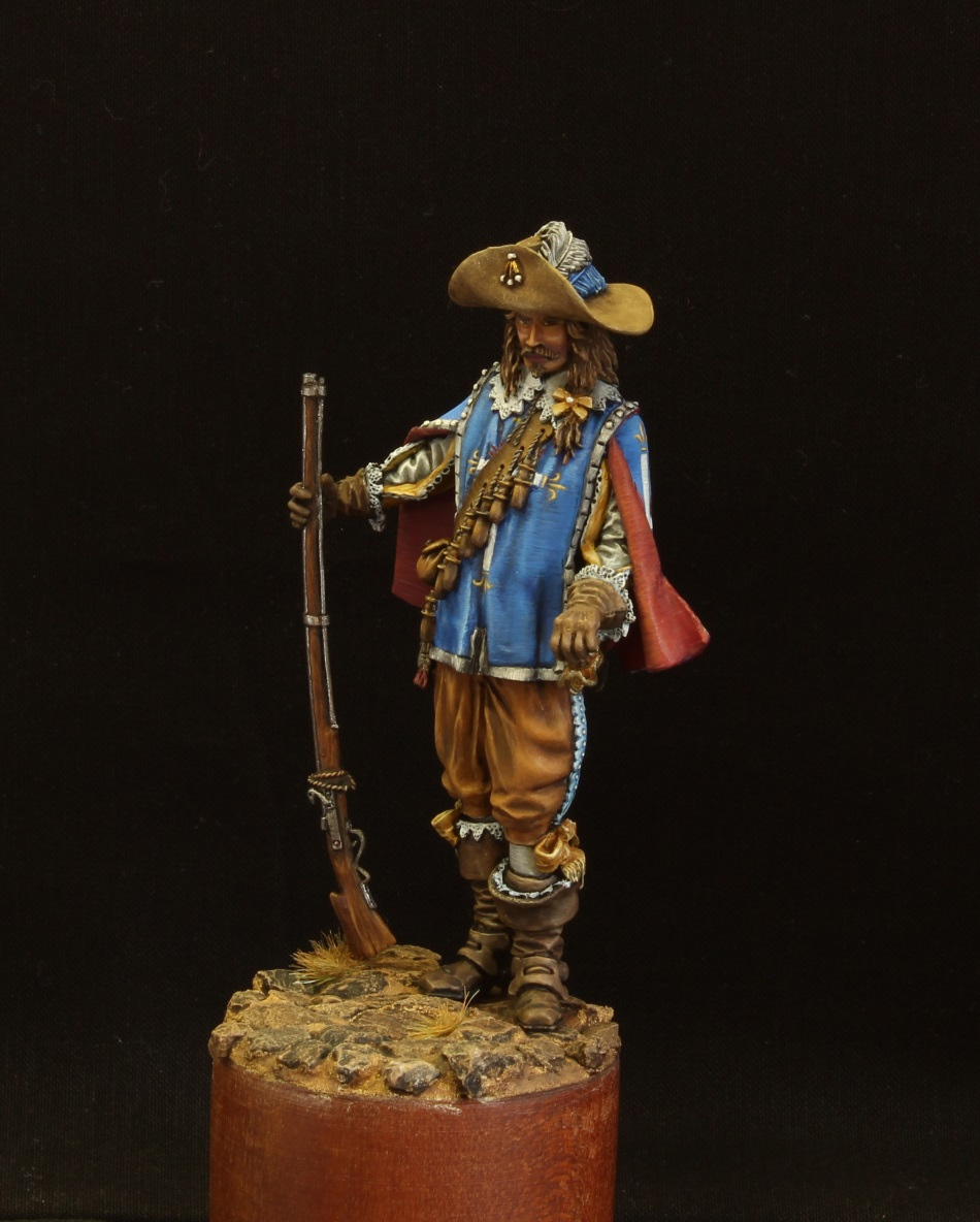 Figures: Musketeer. France, 17th cent., photo #3