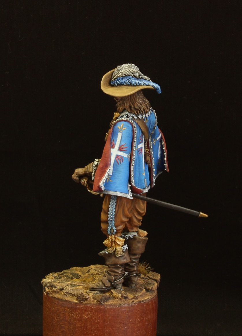 Figures: Musketeer. France, 17th cent., photo #4