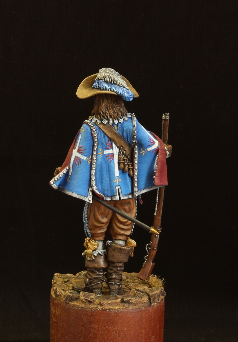 Figures: Musketeer. France, 17th cent., photo #5