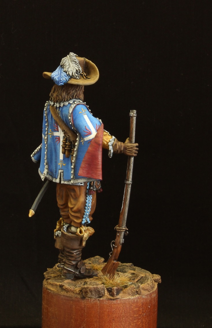 Figures: Musketeer. France, 17th cent., photo #6