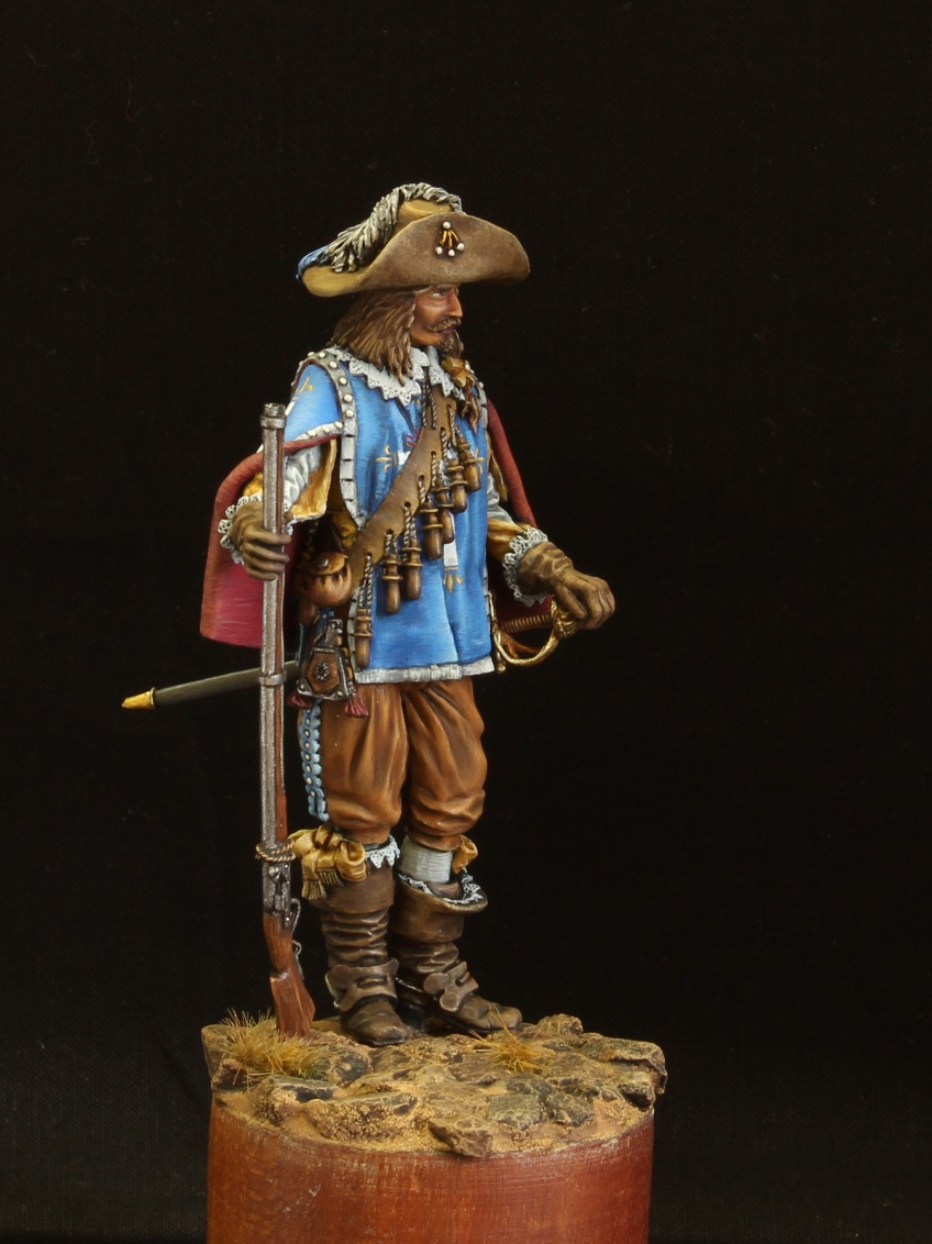 Figures: Musketeer. France, 17th cent., photo #7